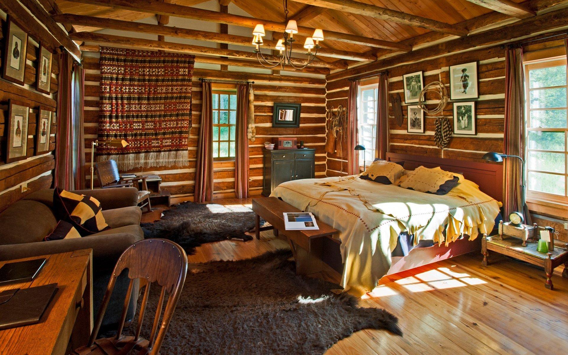 уютный интерьер загородного дома фото