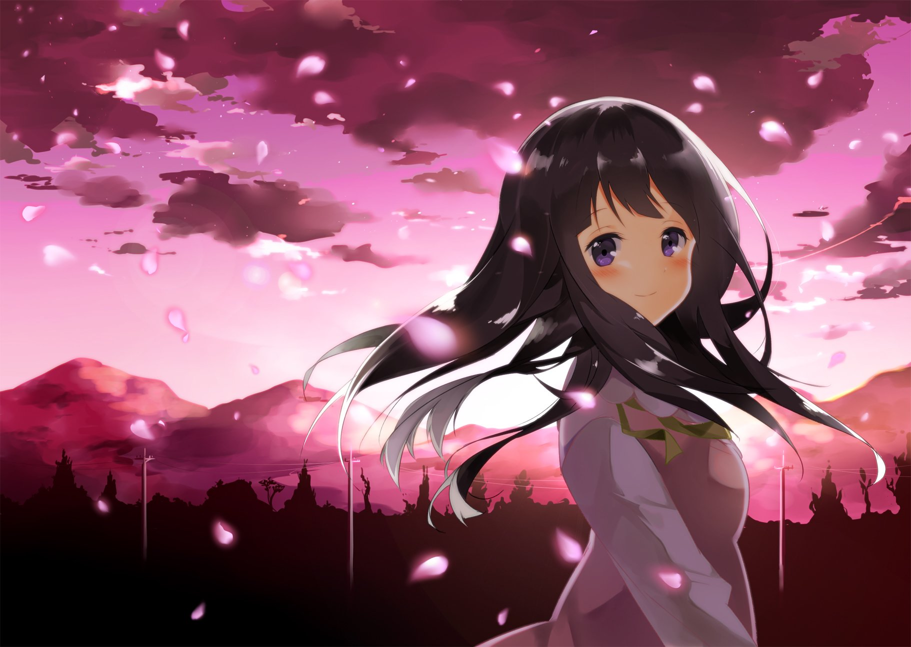 hd wallpaper background id305970 1822x1294 anime hyouka