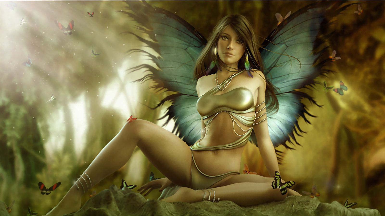 Nude female fairies — photo 2