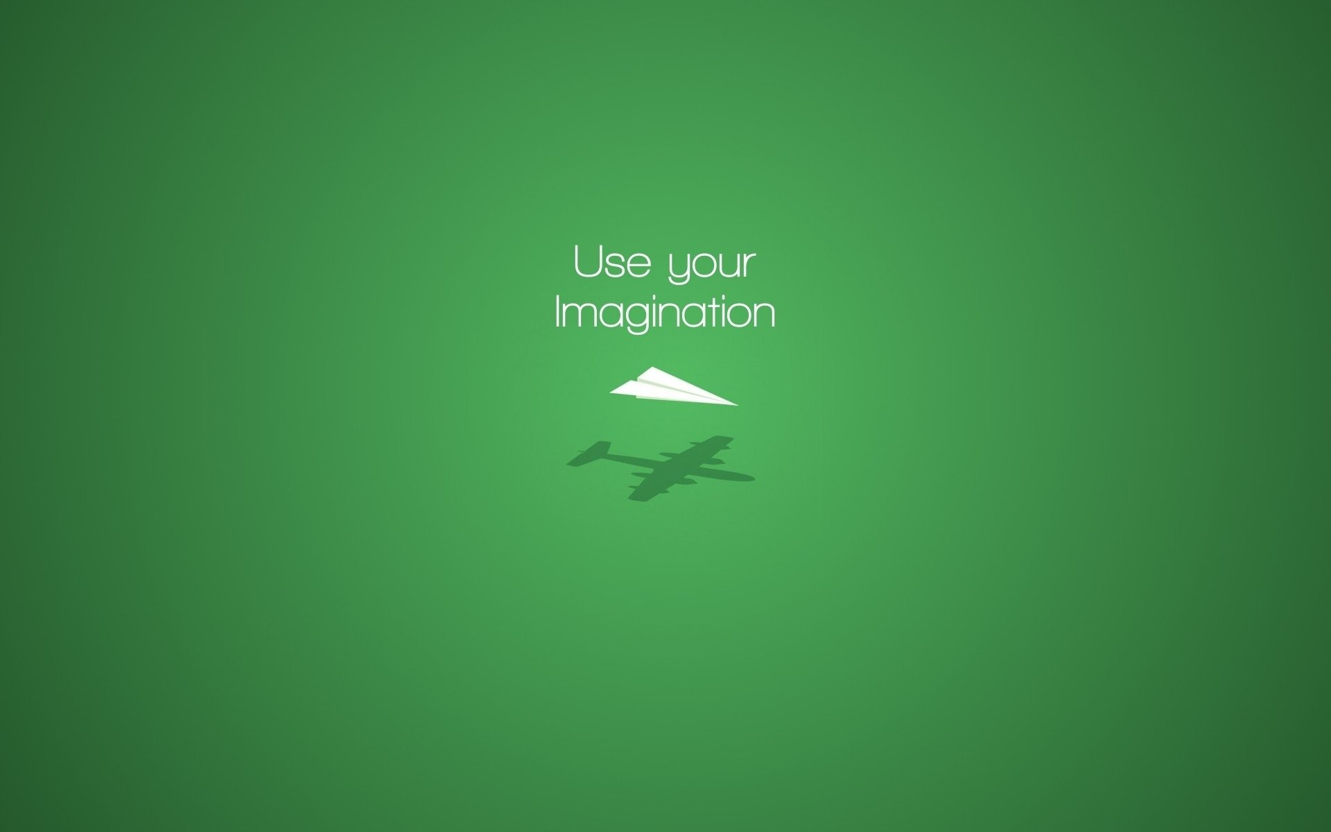 Misc - Motivational  Airplane Green Wallpaper