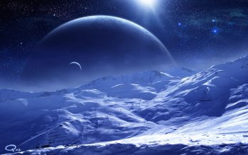 Sci Fi - Planet Rise Wallpapers and Backgrounds ID : 306602