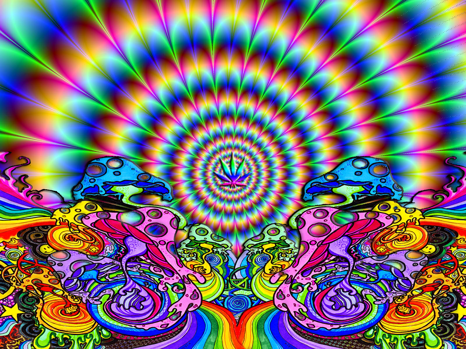 40 Psychedelic And Trippy Backgrounds For Your Desktop