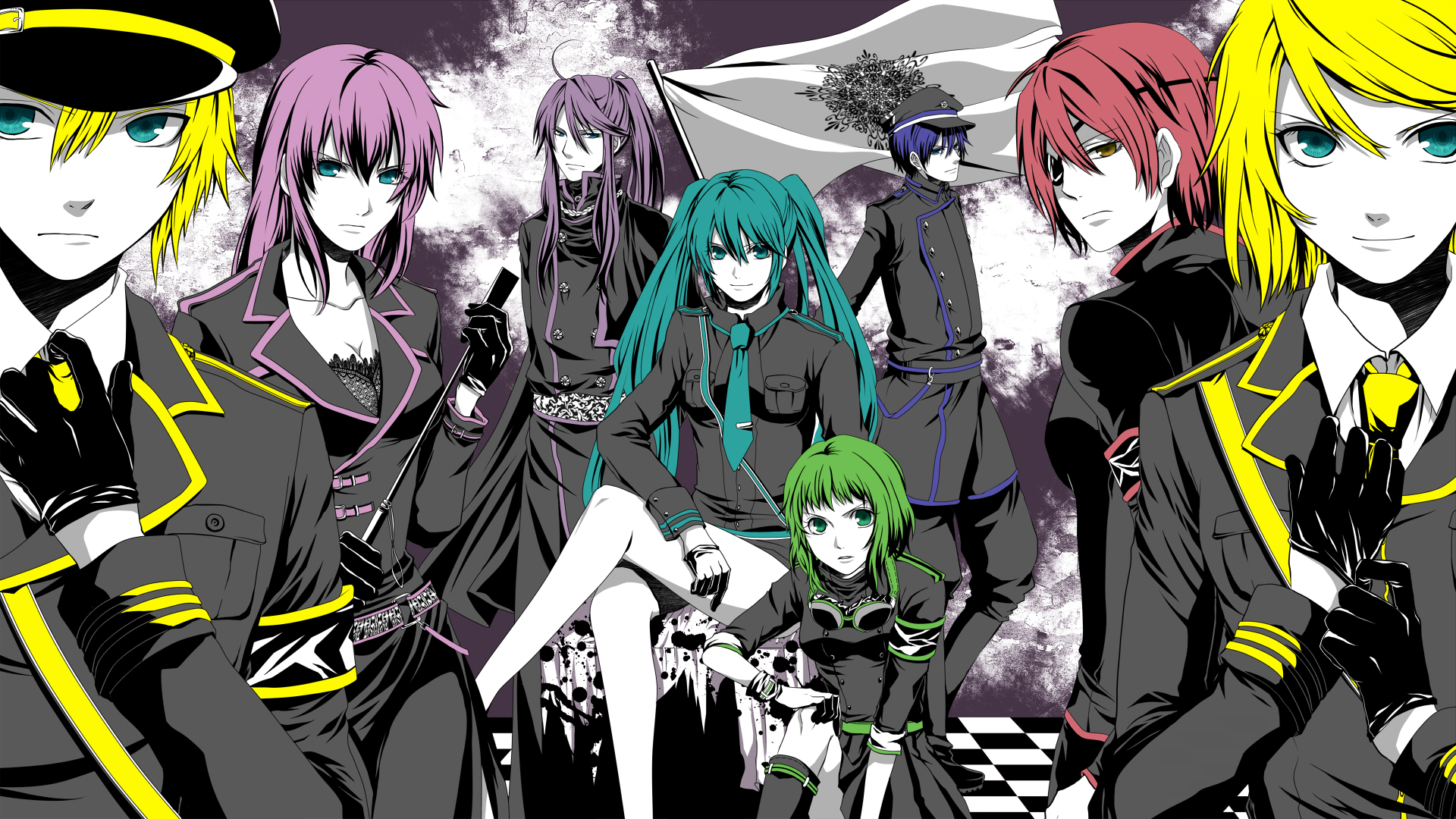 vocaloid characters wallpapers - photo #18