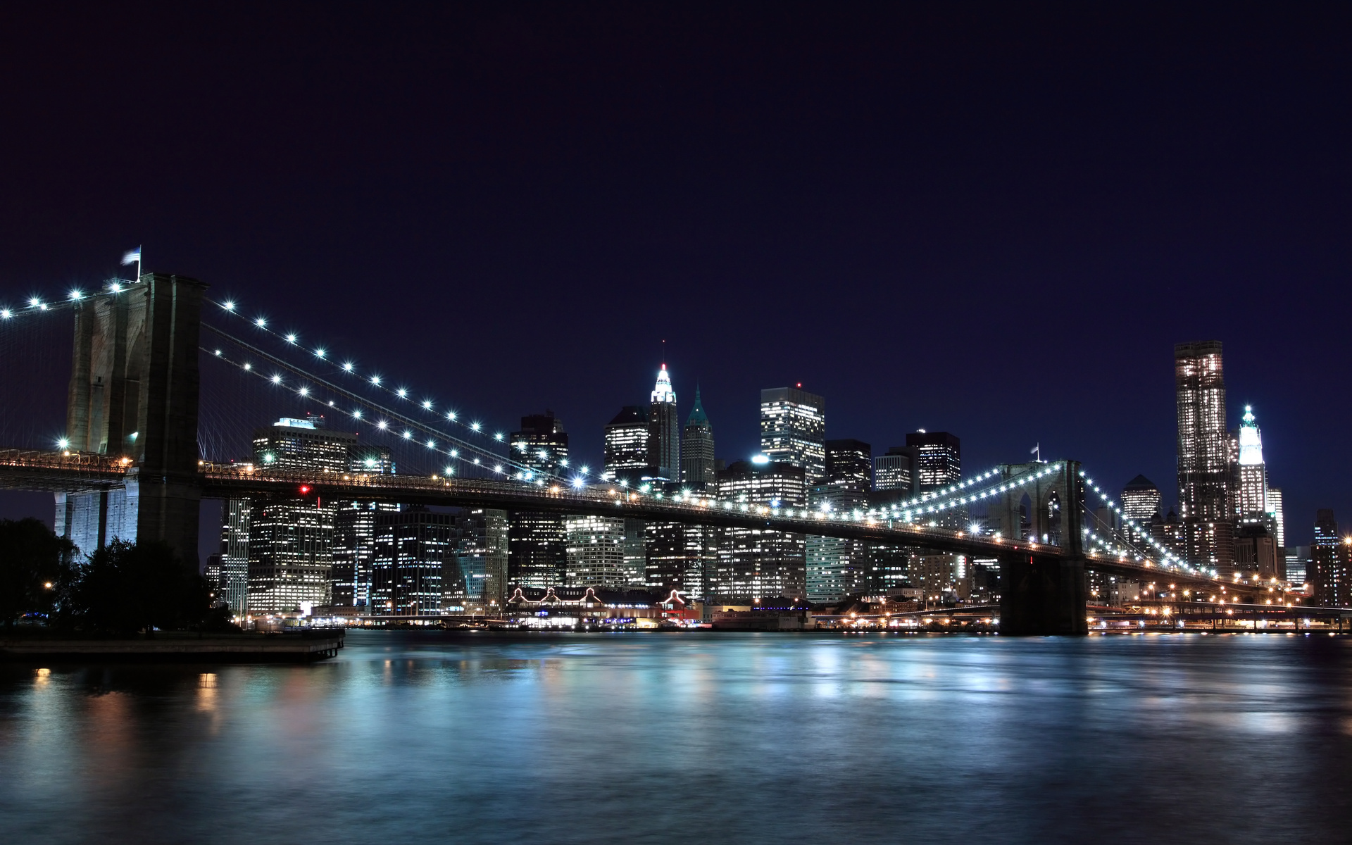 Brooklyn Bridge HD Wallpaper