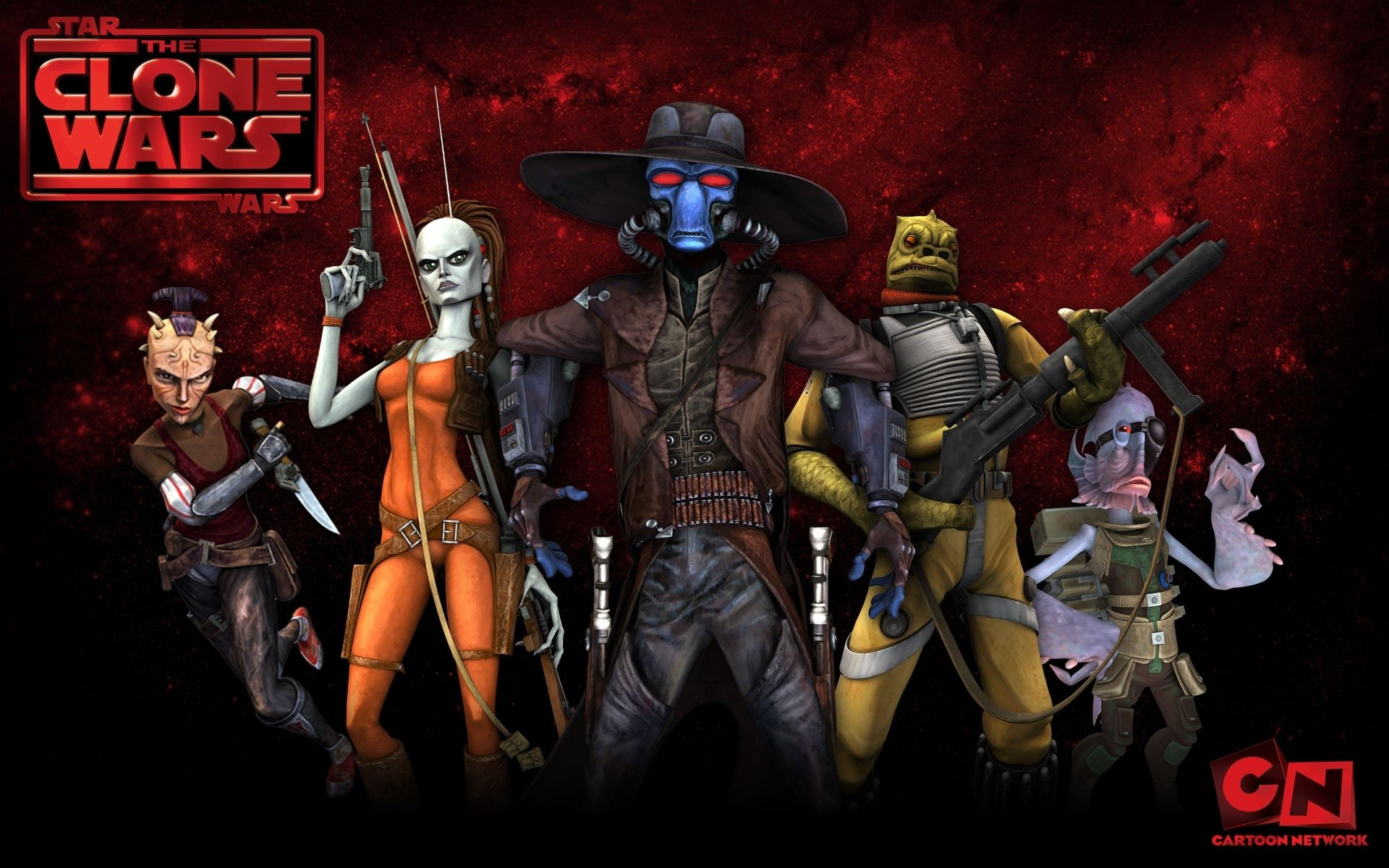 Star Wars The Clone Wars Wallpaper: Season 2: Rise Of The Bounty Hunters Full HD Wallpaper And