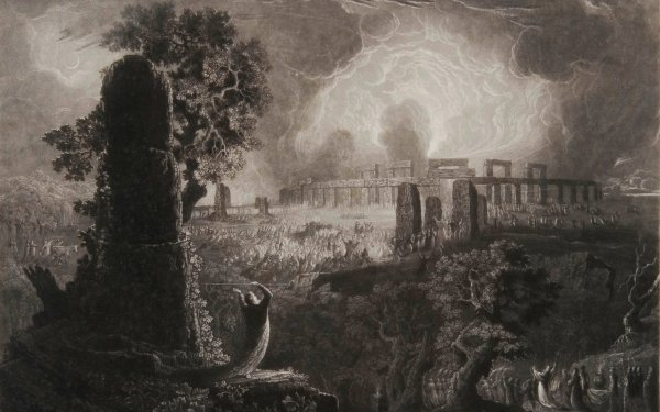 Fantasy Artistic Occult Druid HD Wallpaper   Background Image