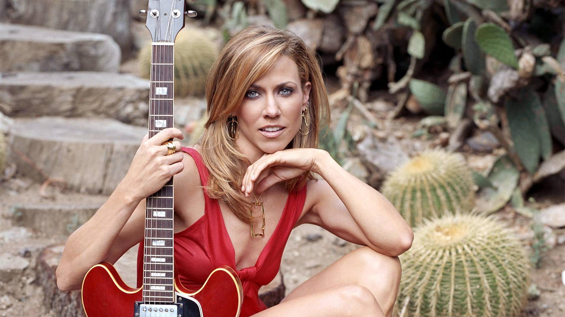 Country Music Stars Wallpaper: Sheryl Crow HD Wallpaper