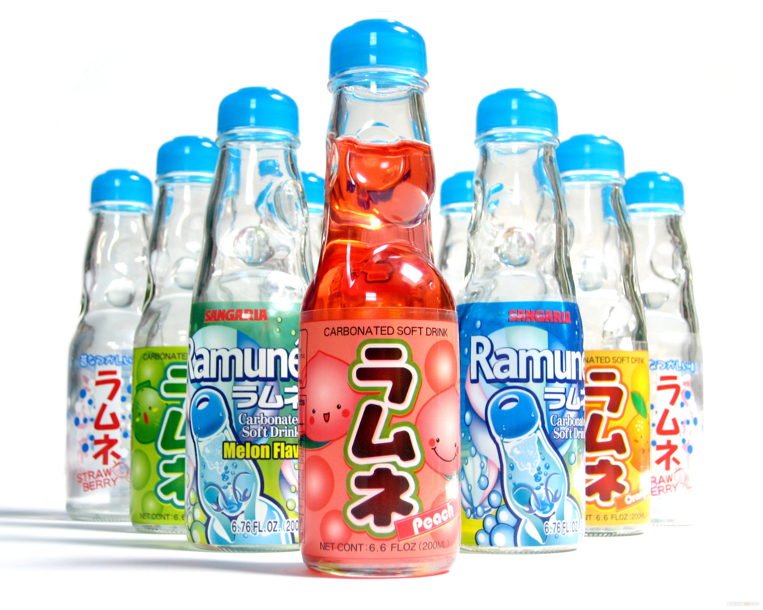 Japanese Soda Drinks