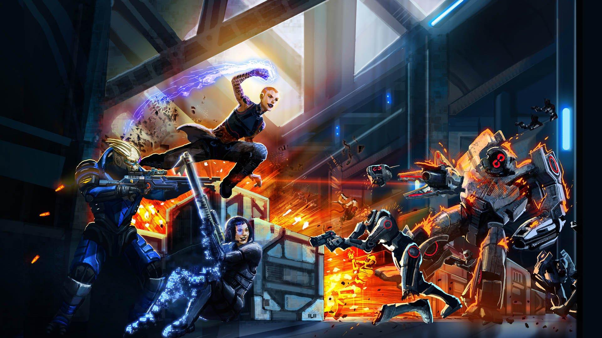 Mass Effect 2 Hd Wallpaper Background Image 1920x1080 Id