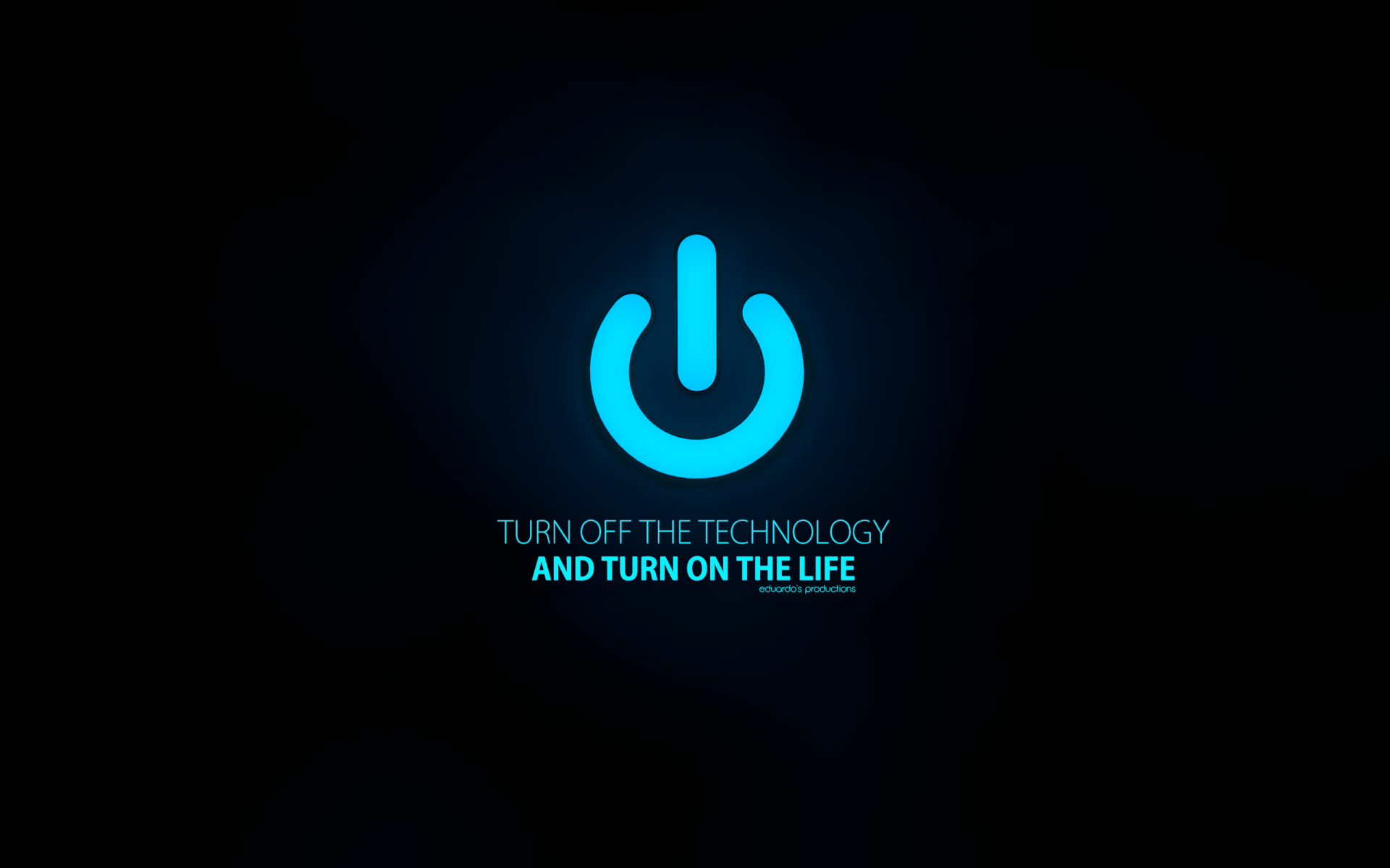 Funny Pictures Gallery Technology Wallpaper Hd Blue: Http://eduardosproductions.deviantart.com/art/turn-off-the