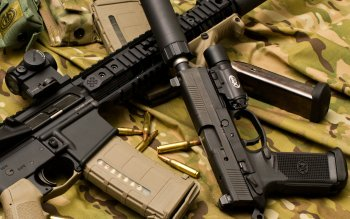 Weapons - Assault Rifle Wallpapers and Backgrounds ID : 309162