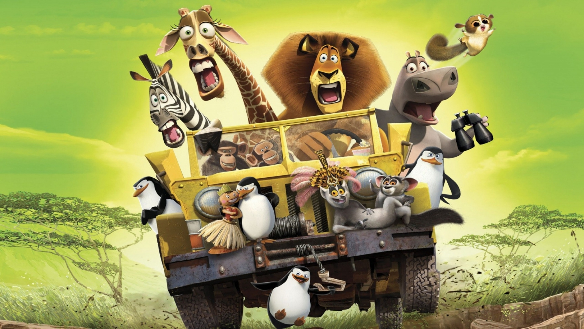 Madagascar escape 2 africa full hd wallpaper and - Madagascar wallpaper ...