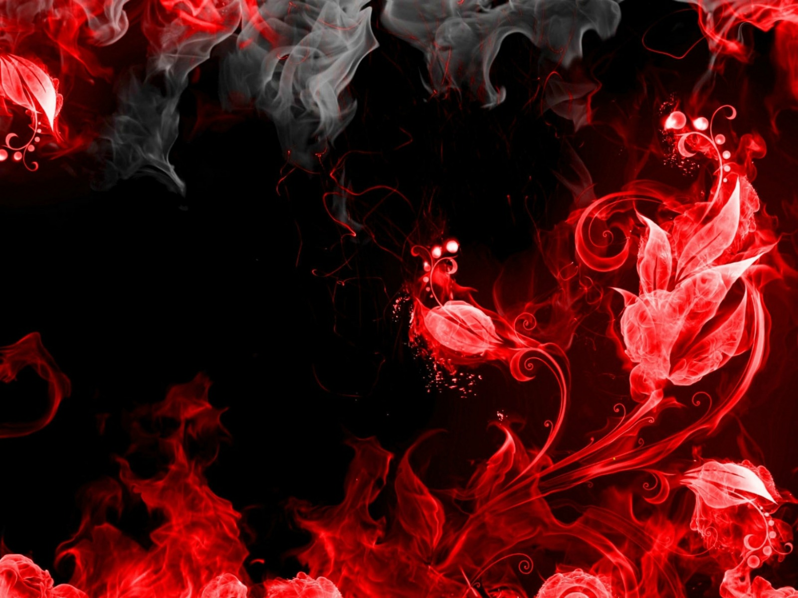 Red Smoke Wallpaper And Background Image