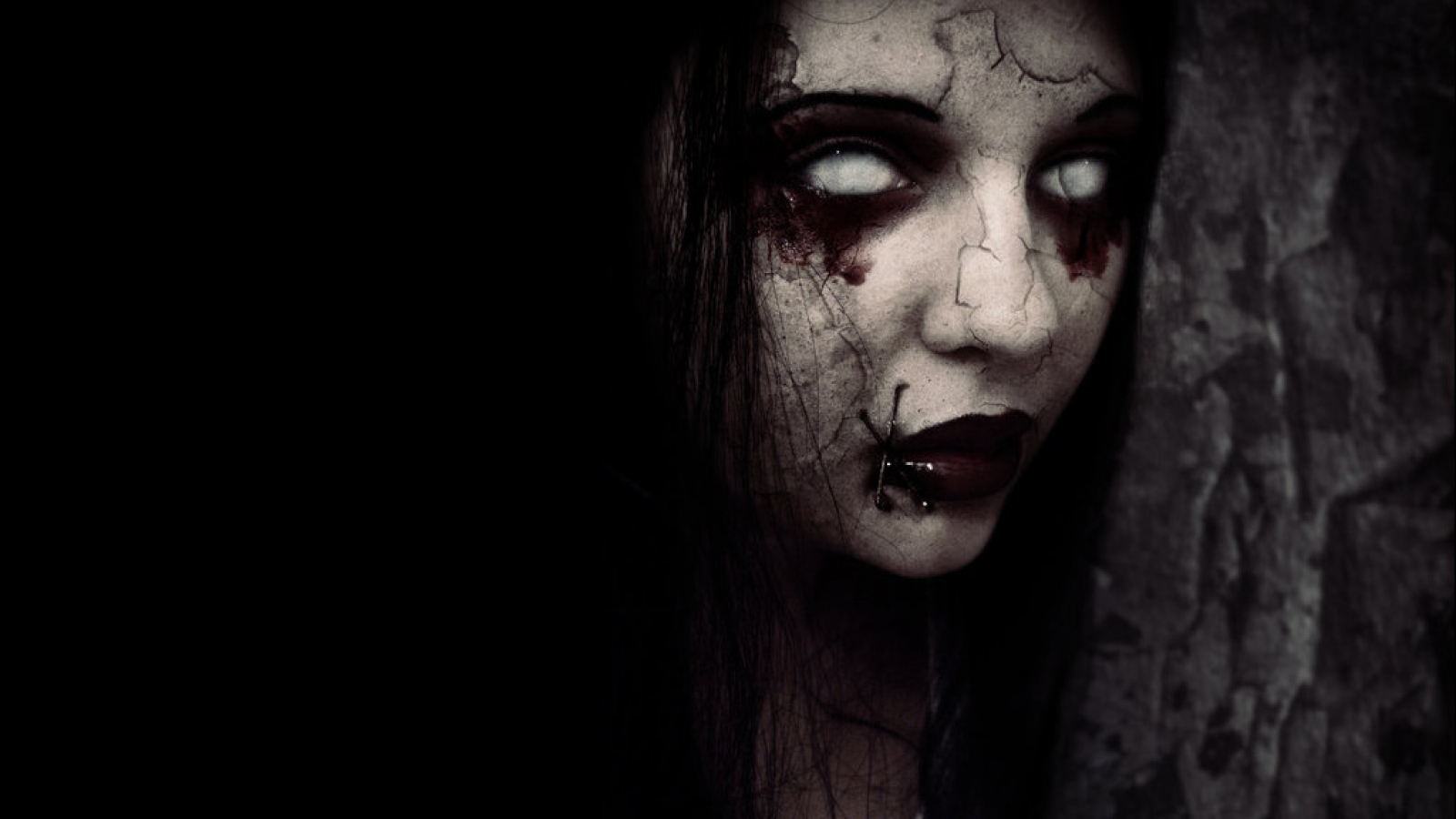 Creepy wallpaper and background image 1600x900 id 310768 for Creepy gothic pictures