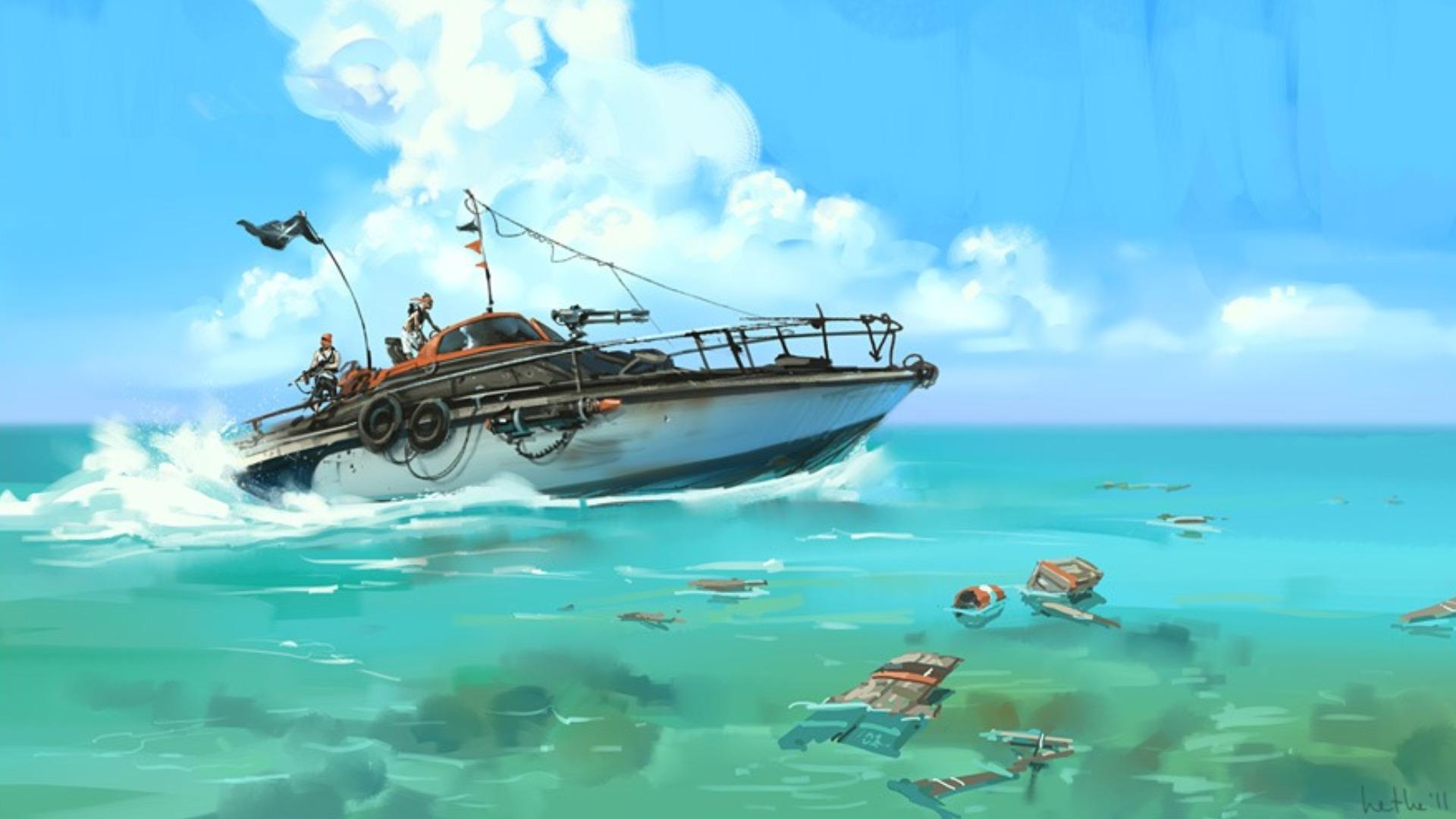 Boat HD Wallpaper