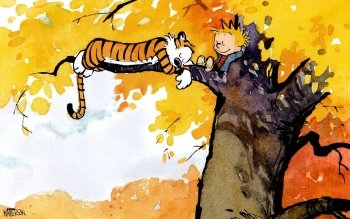 Caricatura - Calvin Y Hobbes Wallpapers and Backgrounds