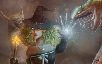 Fantasy - Witch Wallpapers and Backgrounds ID : 310242