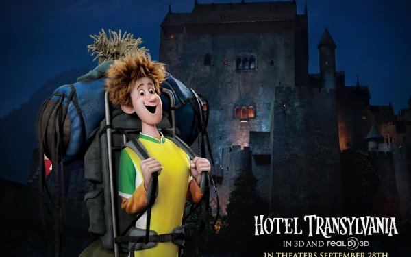 Movie Hotel Transylvania Jonathan Castle HD Wallpaper | Background Image