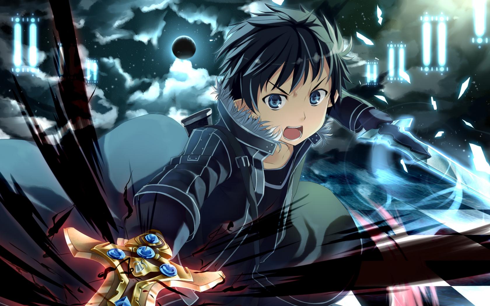 Anime Sword Art Online Kazuto Kiri A Kirito Sword Art Online Wallpaper Download