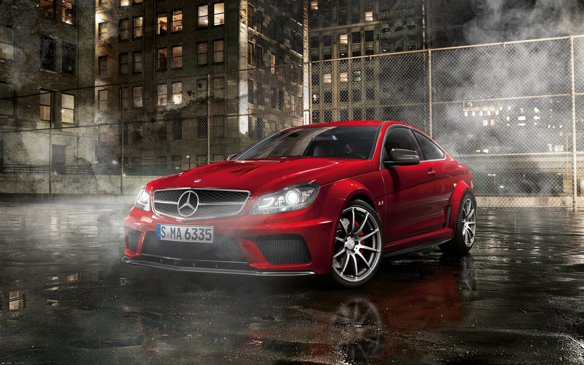 Mercedes Benz Class C63 Coupe Black Series Amg Full Hd