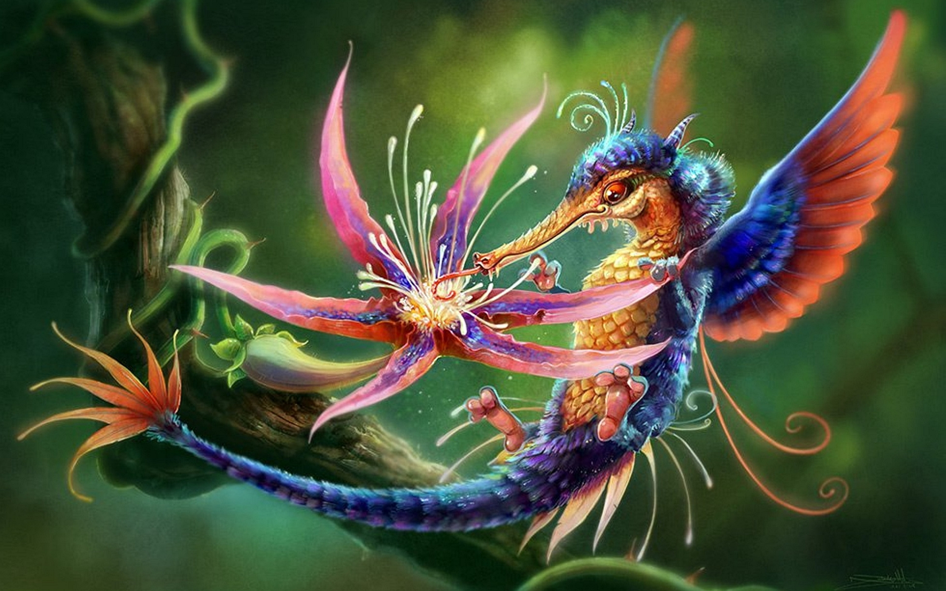 Fantasy - Creature  Wallpaper