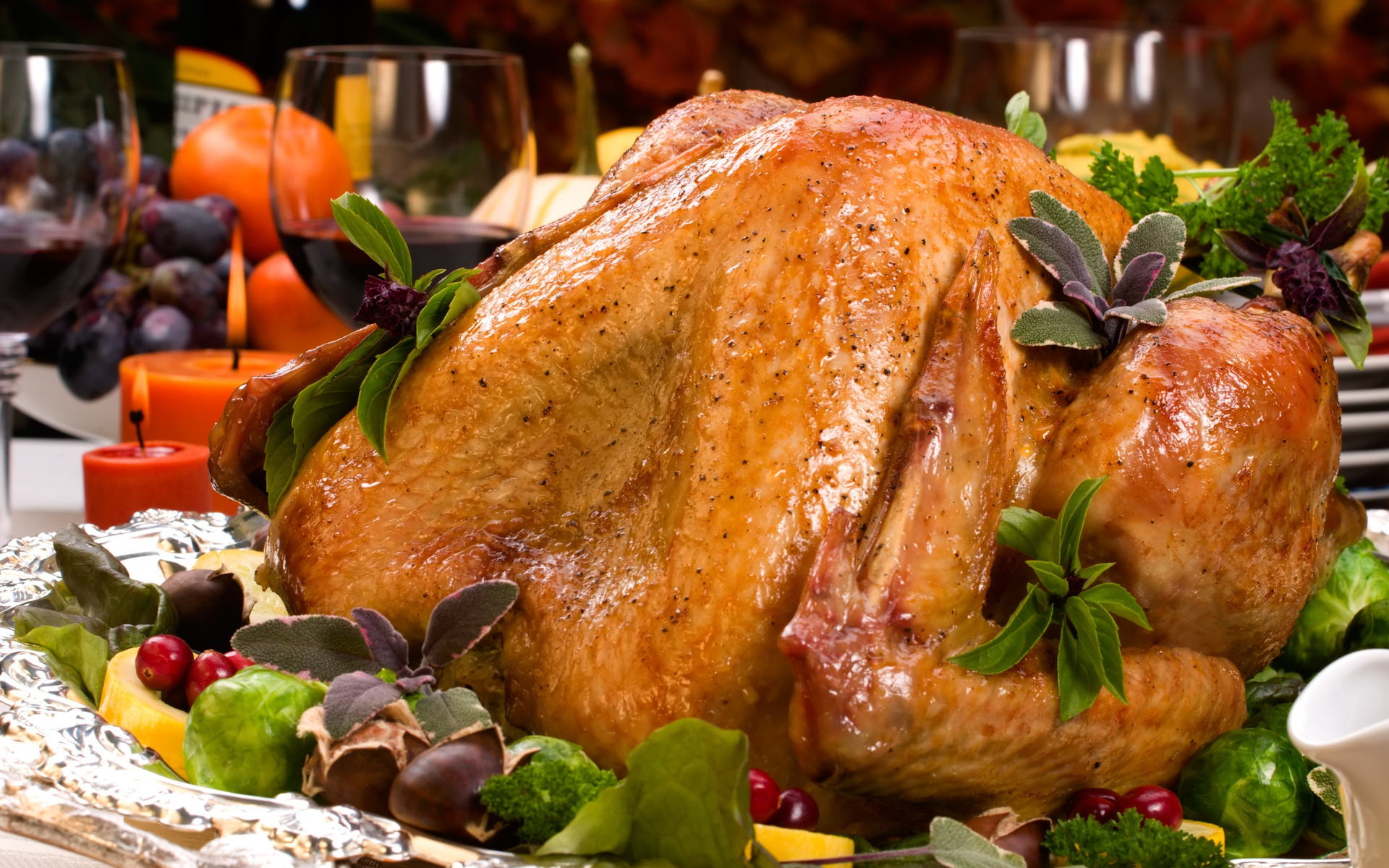 Holiday - Thanksgiving  - Turkey - Food Wallpaper