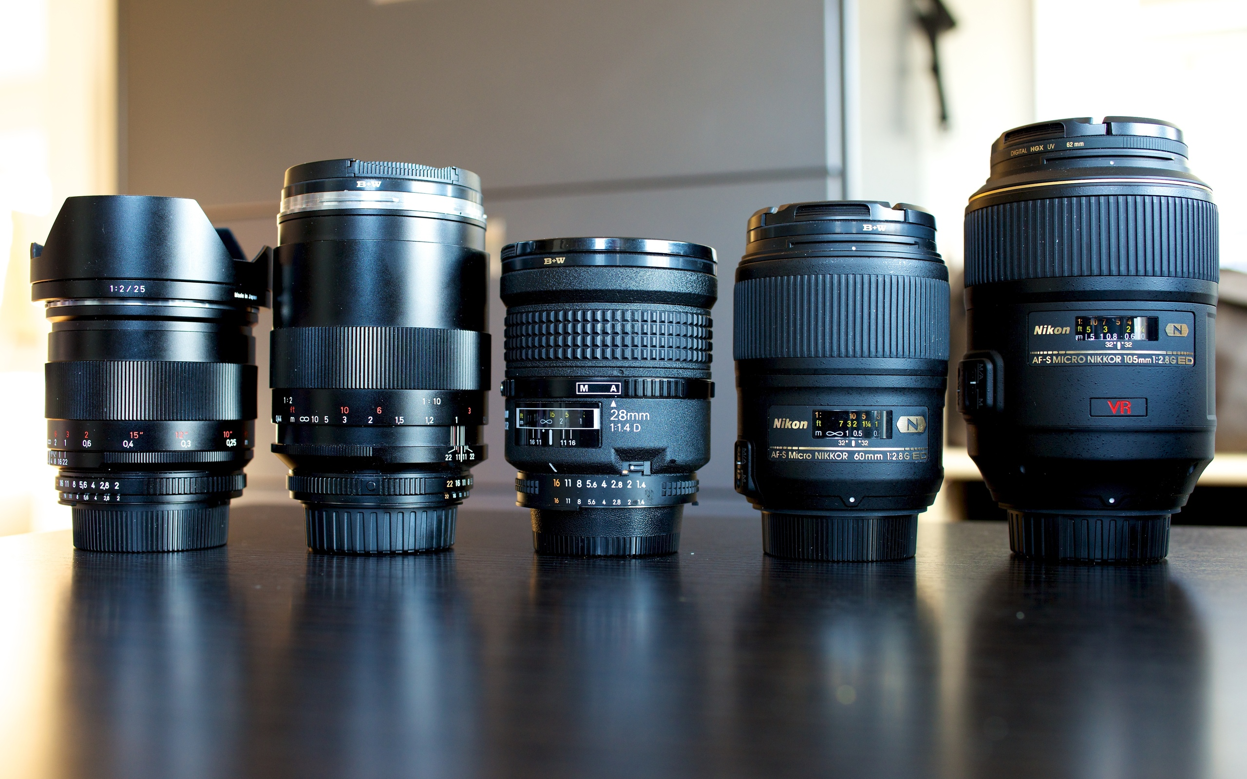 Lenses For The D800 Nikon Hd Wallpaper Background Image 2560x1600 Id 312709 Wallpaper Abyss