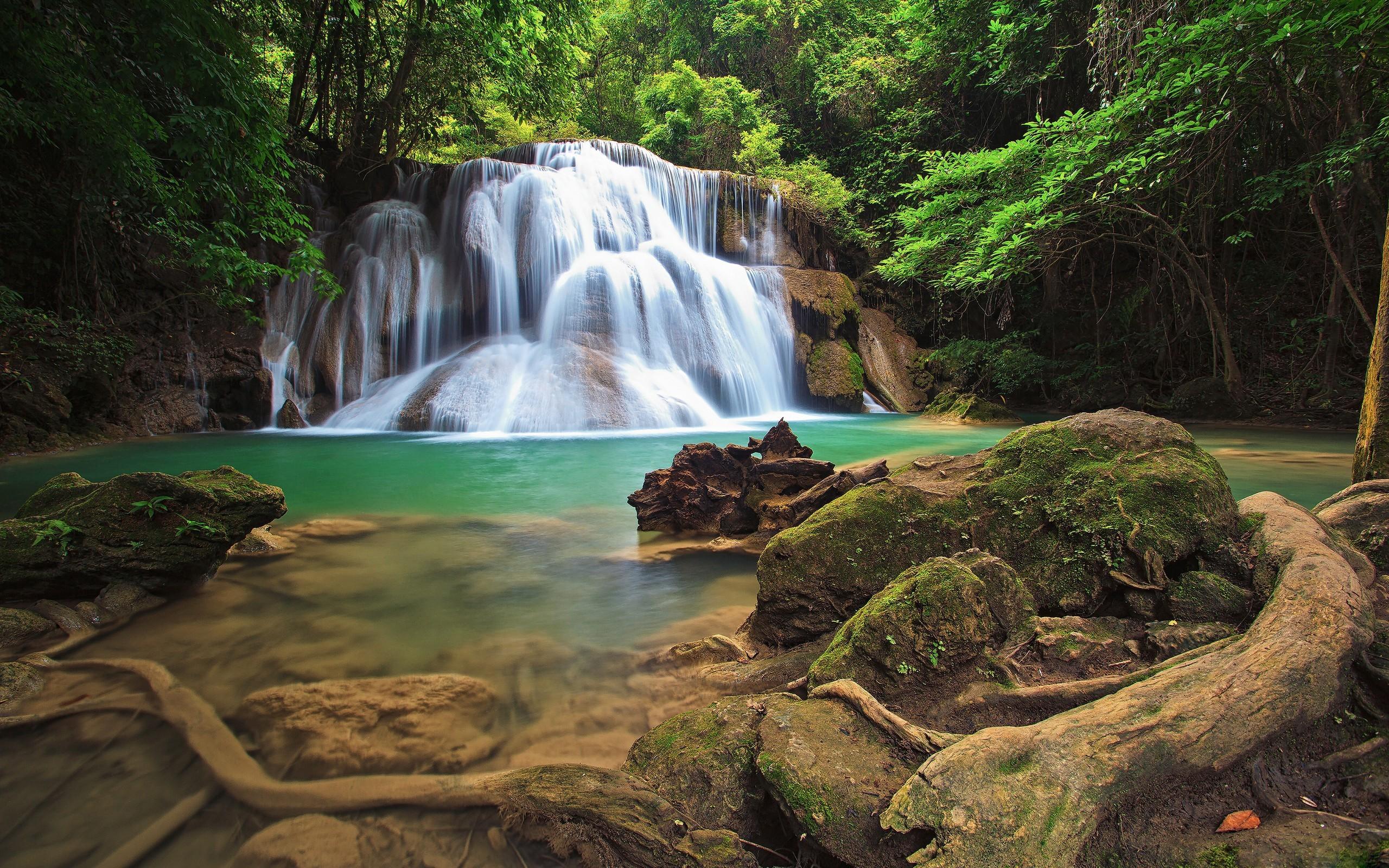 Waterfall HD Wallpaper | Background Image | 2560x1600 | ID ...
