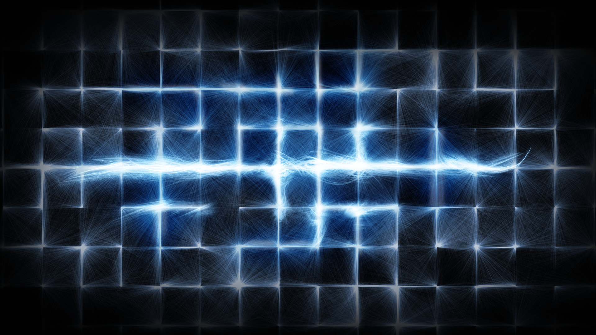 Abstract - Lines  Blue Abstract Wallpaper