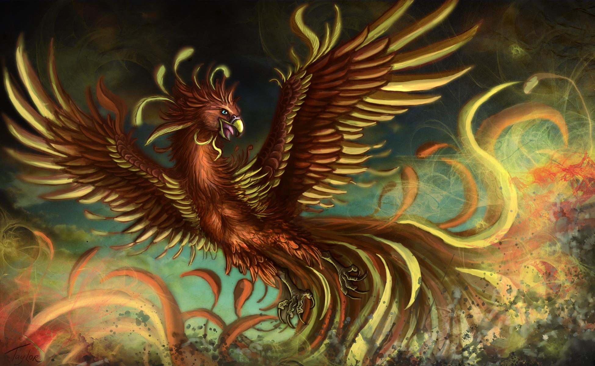 Phoenix HD Wallpaper