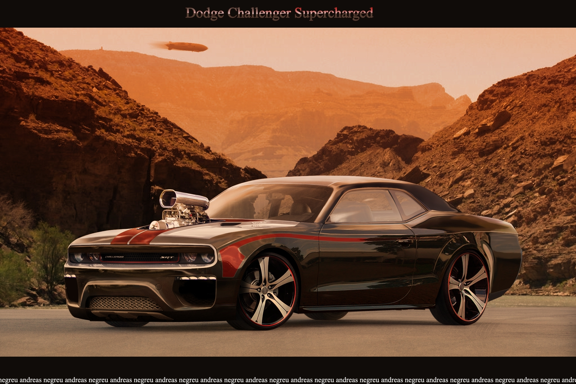 Httpicstrimdiantartartdodge challenger supercharged vehicles dodge hot rod muscle car challenger wallpaper sciox Image collections