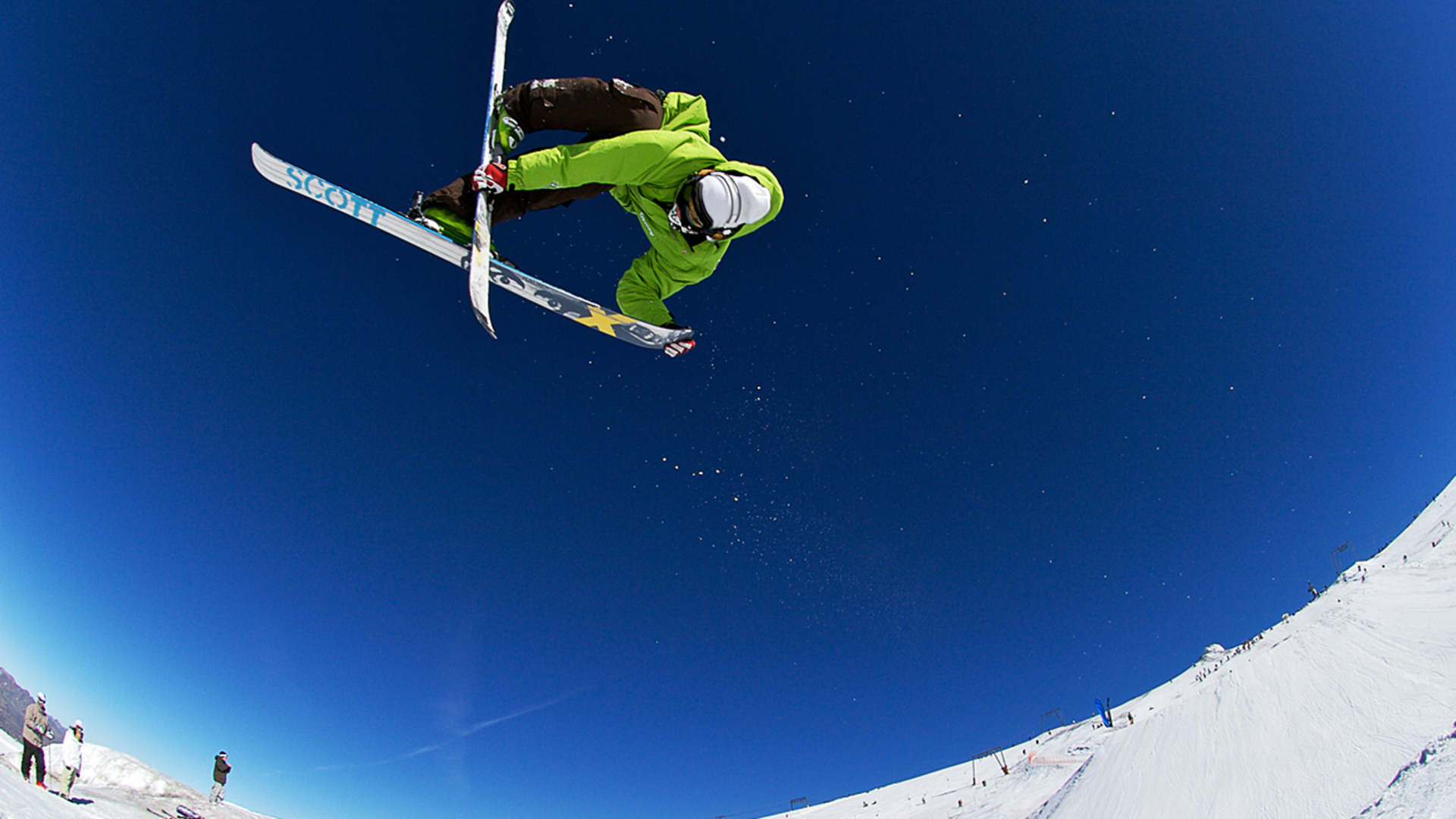 skiing full hd wallpaper and background image 1920x1080