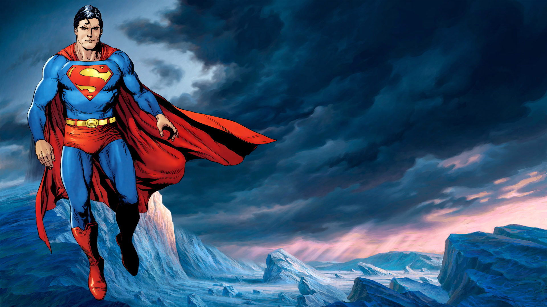 Superman Full HD Wallpaper and Background 1920x1080 ID313961