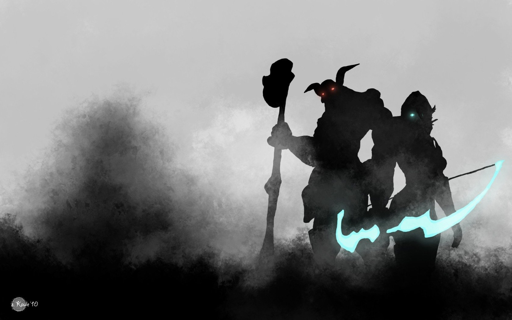 Video Game - League Of Legends  Ashe (League Of Legends) Nasus (League Of Legends) Wallpaper