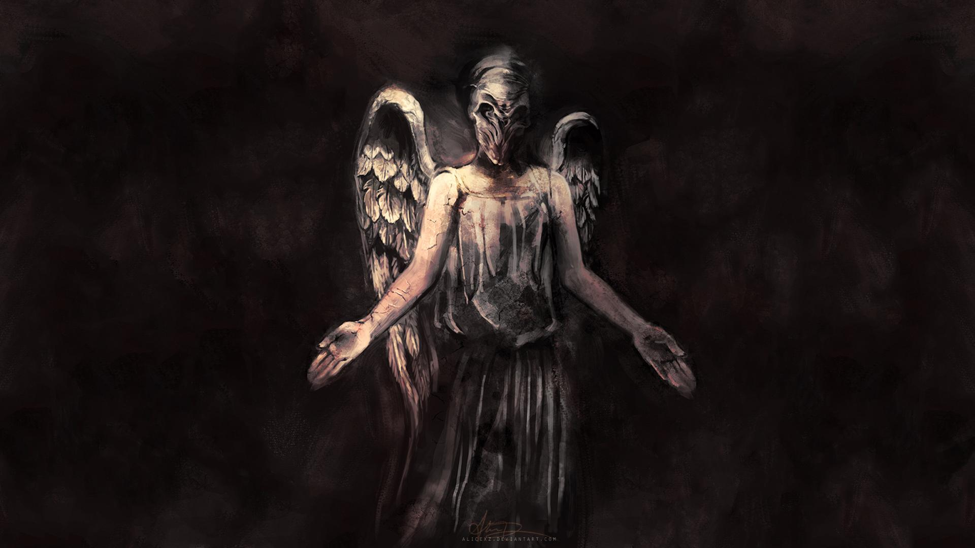 crying angel wallpaper gothic - photo #8