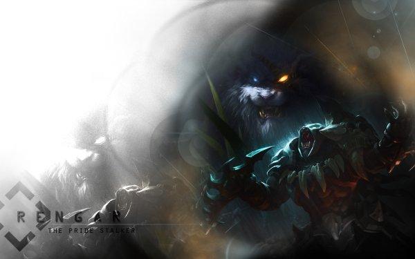 Video Game League Of Legends Rengar HD Wallpaper | Background Image