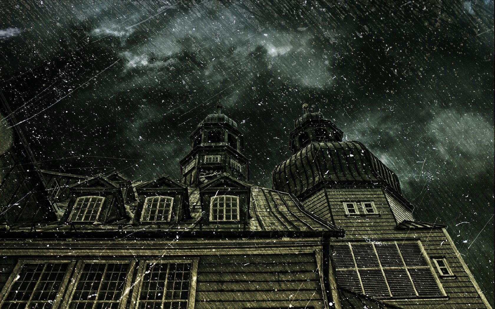 Haunted Wallpaper And Background Image