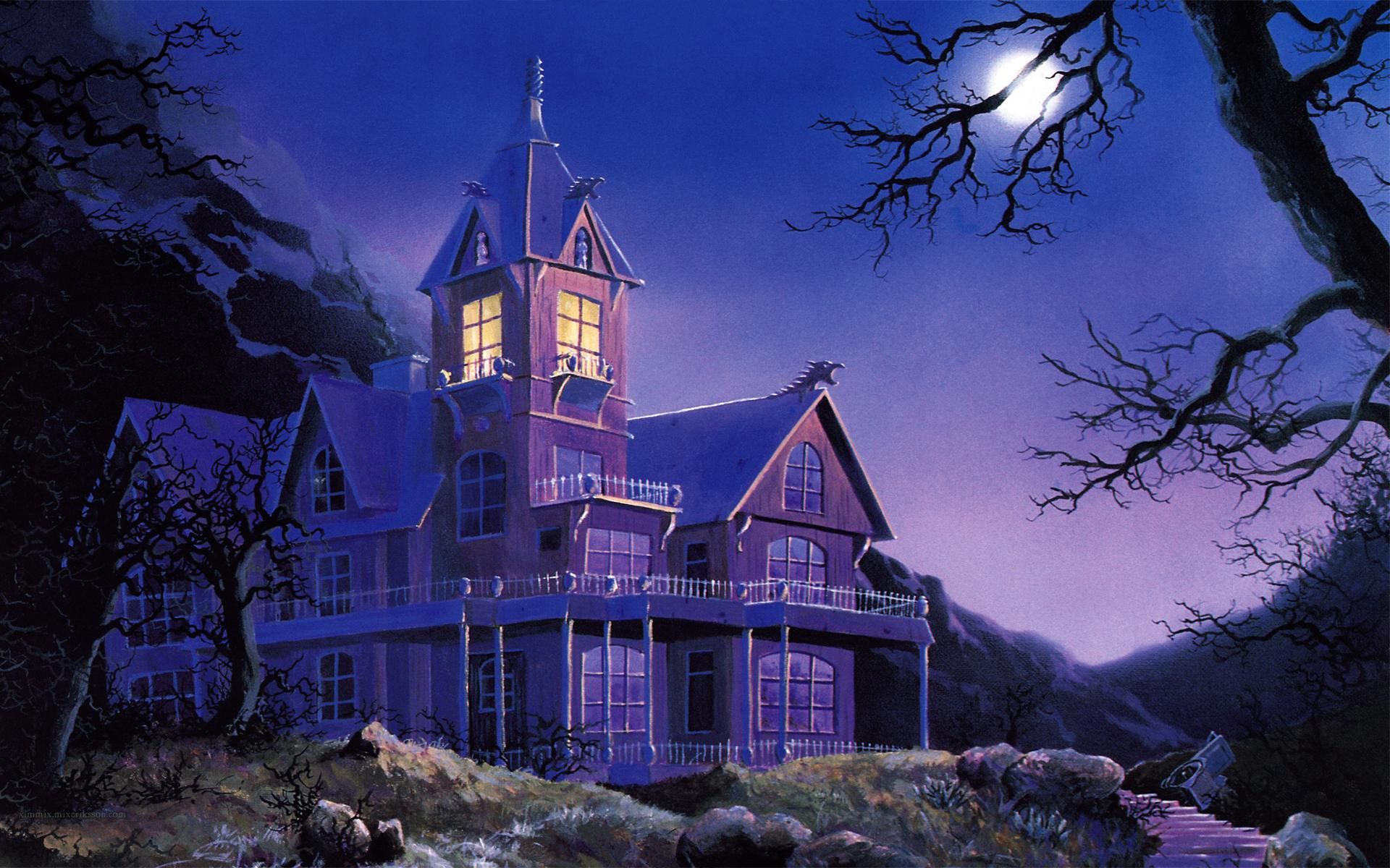 Music   King Diamond Album Cover Heavy Metal Metal Hard Rock Haunted  Haunted House Halloween Wallpaper