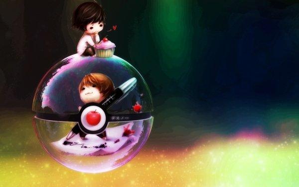 Anime Crossover Death Note Pokémon Fond d'écran HD | Image
