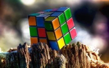 Spel - Rubik's Cube Wallpapers and Backgrounds ID : 316902