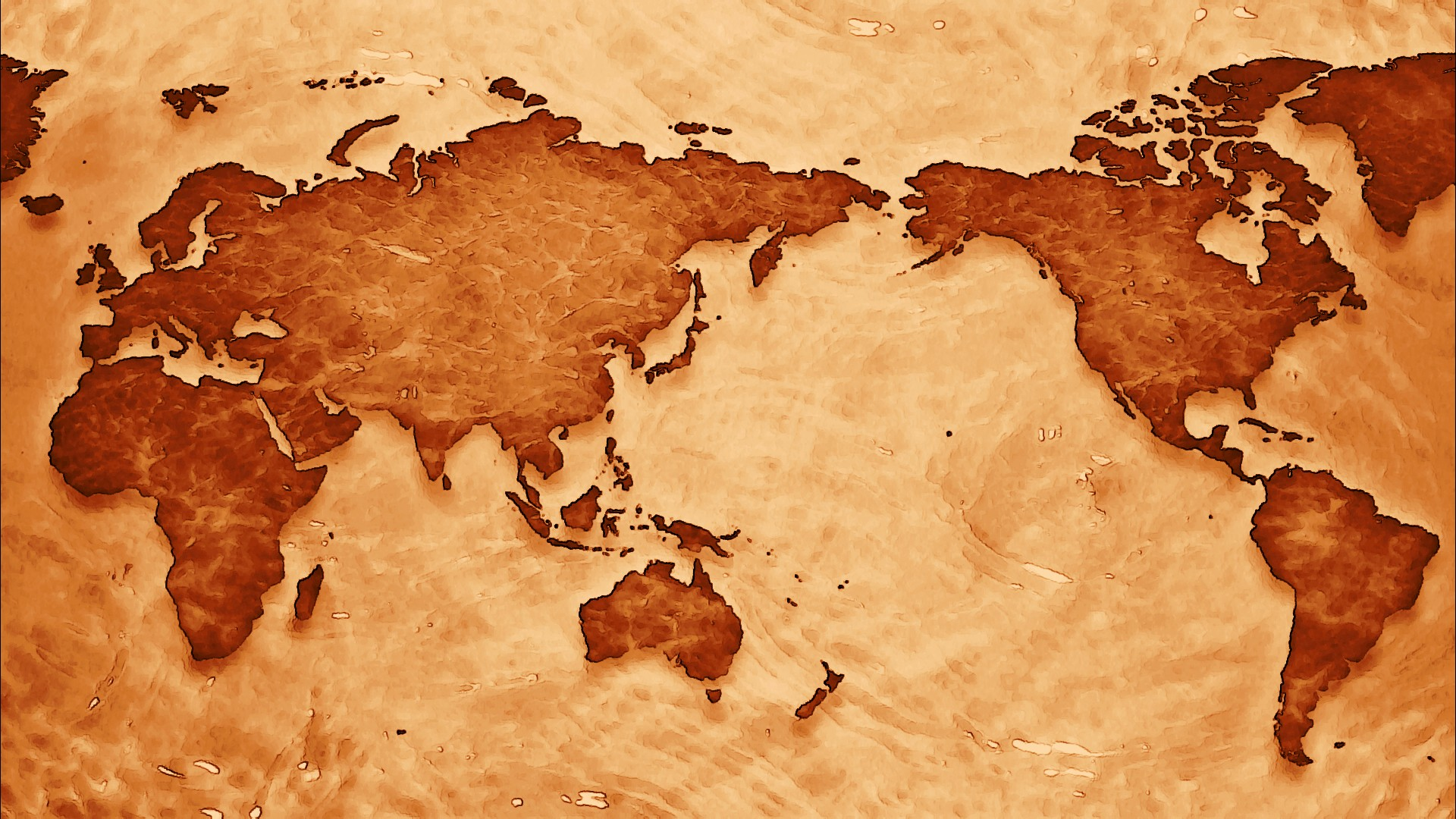 World Map Full HD Wallpaper And Background Image