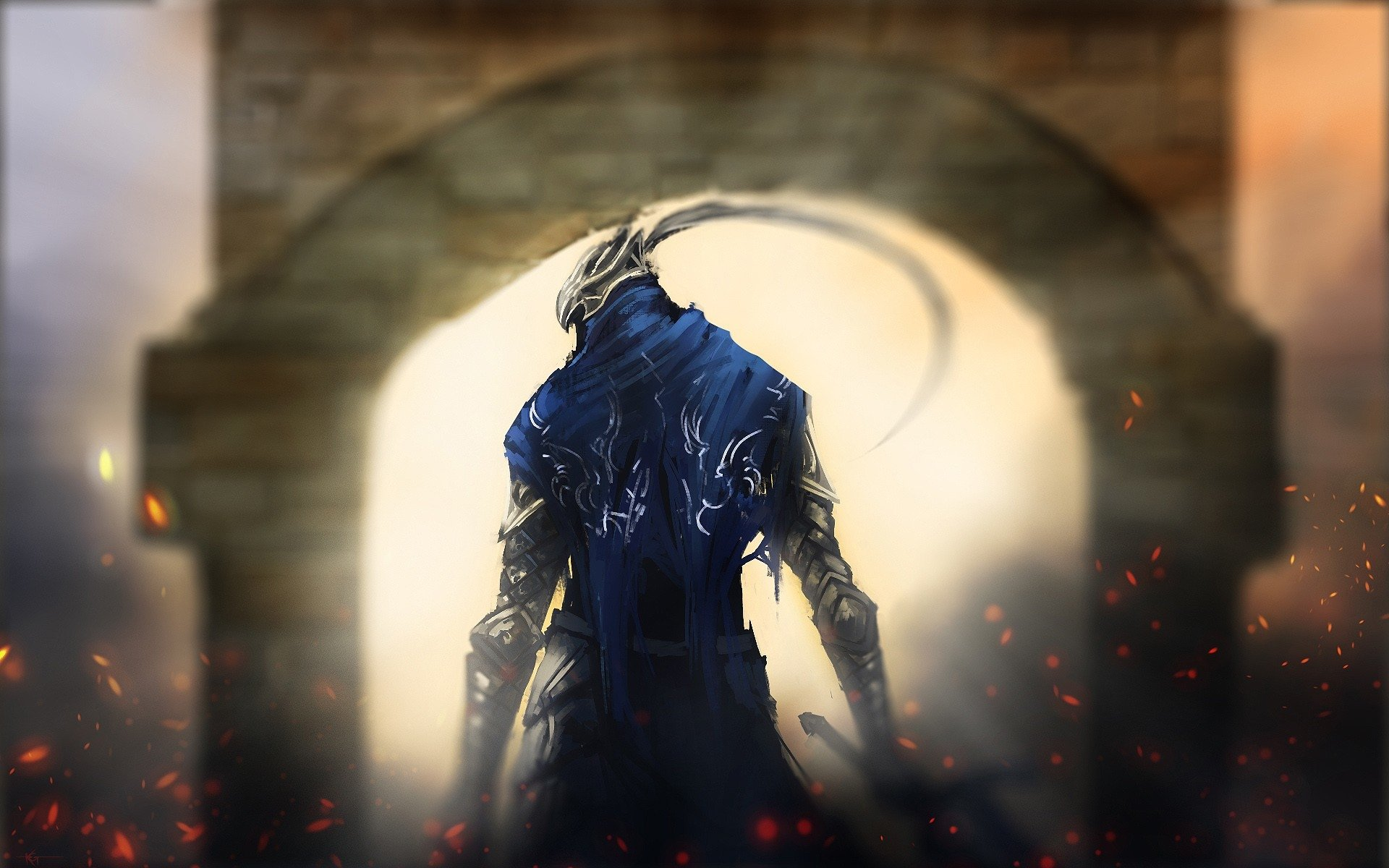 Video Game - Dark Souls  Dark Knight Artorias (Dark Souls) Wallpaper