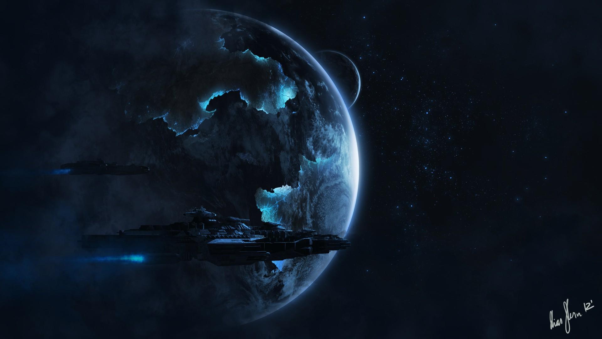 Alien spaceship HD Wallpaper | Background Image ...