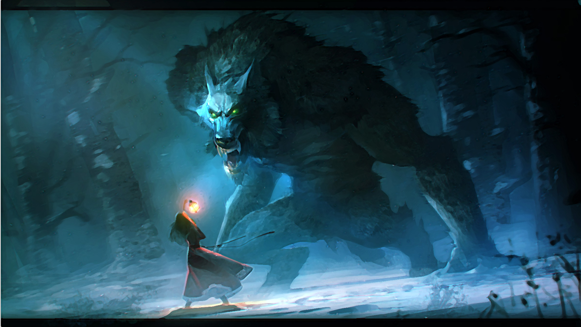 Werewolf Full HD Wallpaper and Background 1920x1080 ID:319750