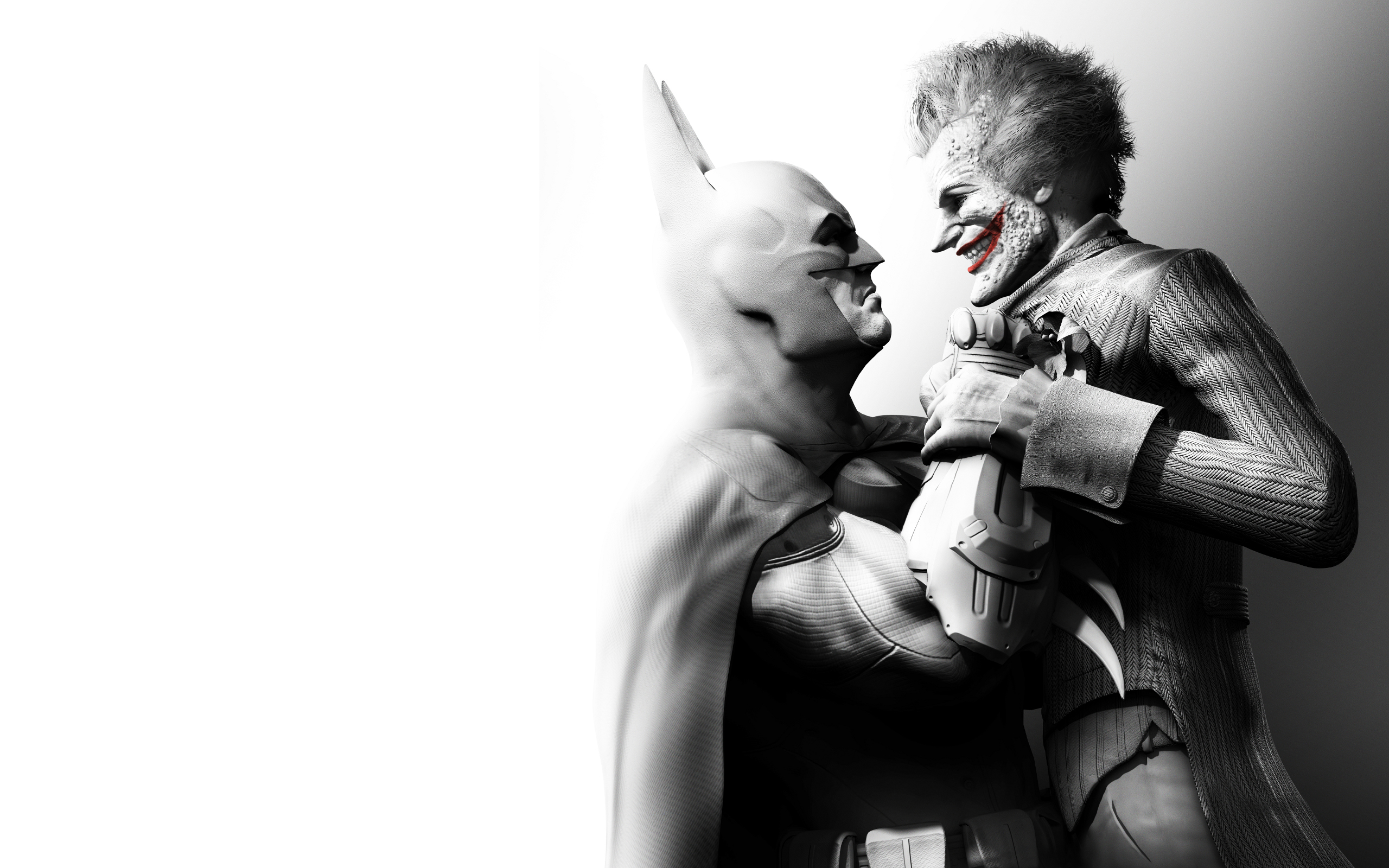 Batman Arkham City Harley Quinn Joker Superhero HD Wallpaper