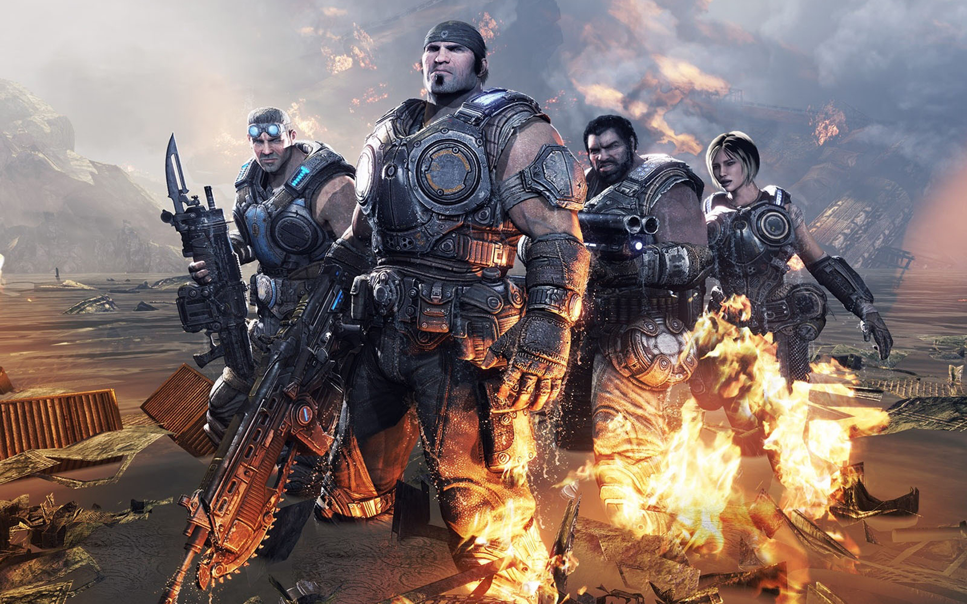 Gears Of War 3 Hd Wallpapers For Android: Gears Of War 3 Full HD Wallpaper And Background Image
