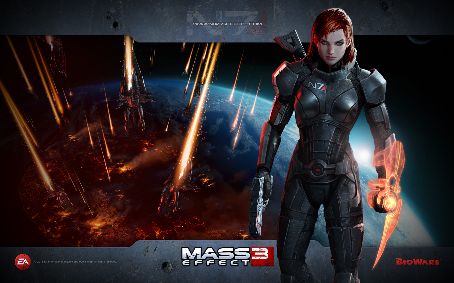 Mass Effect 3 Hd Wallpaper Background Image 1920x1200 Id