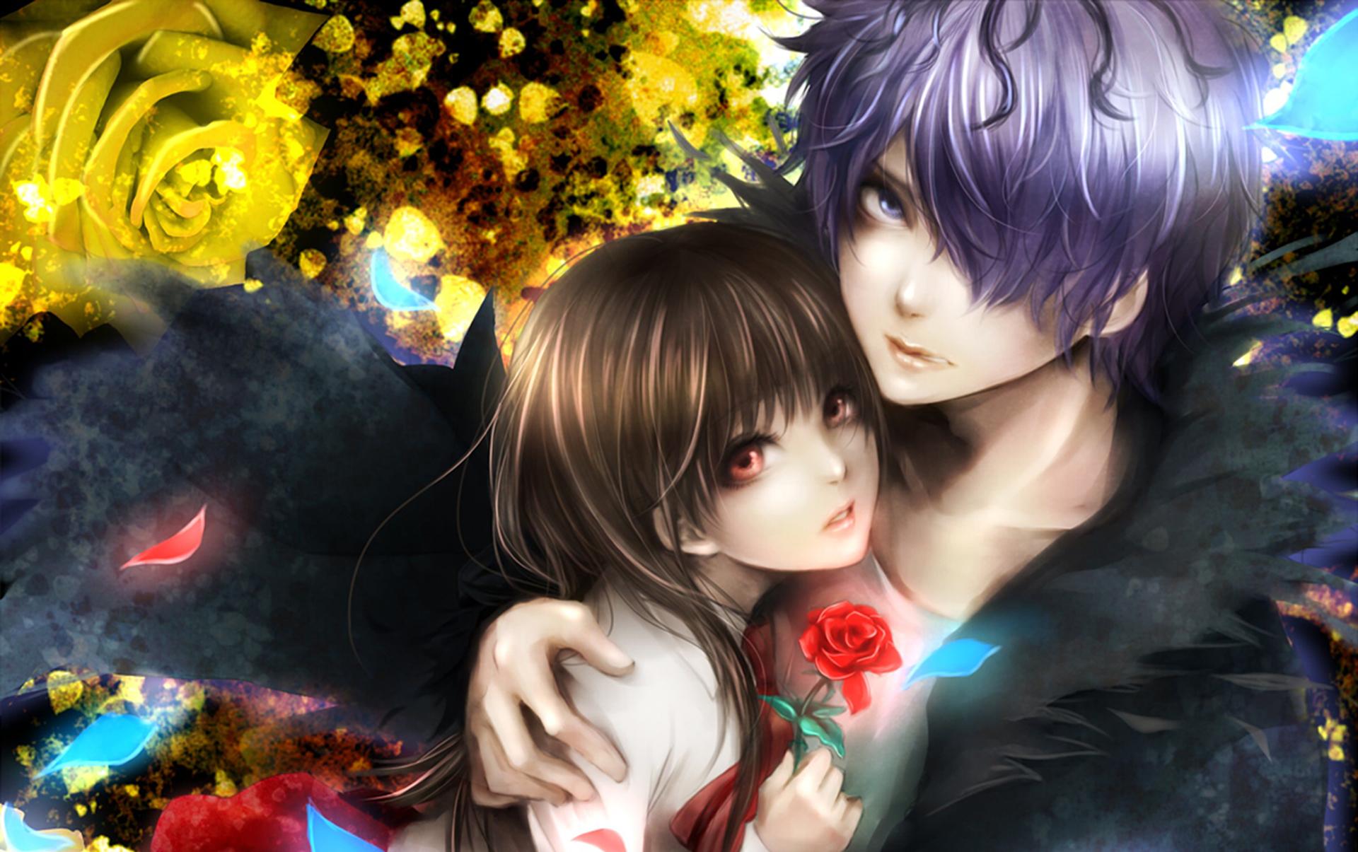 Fantasy Love Couple Hd Wallpaper Background Image 1920x1205 Id