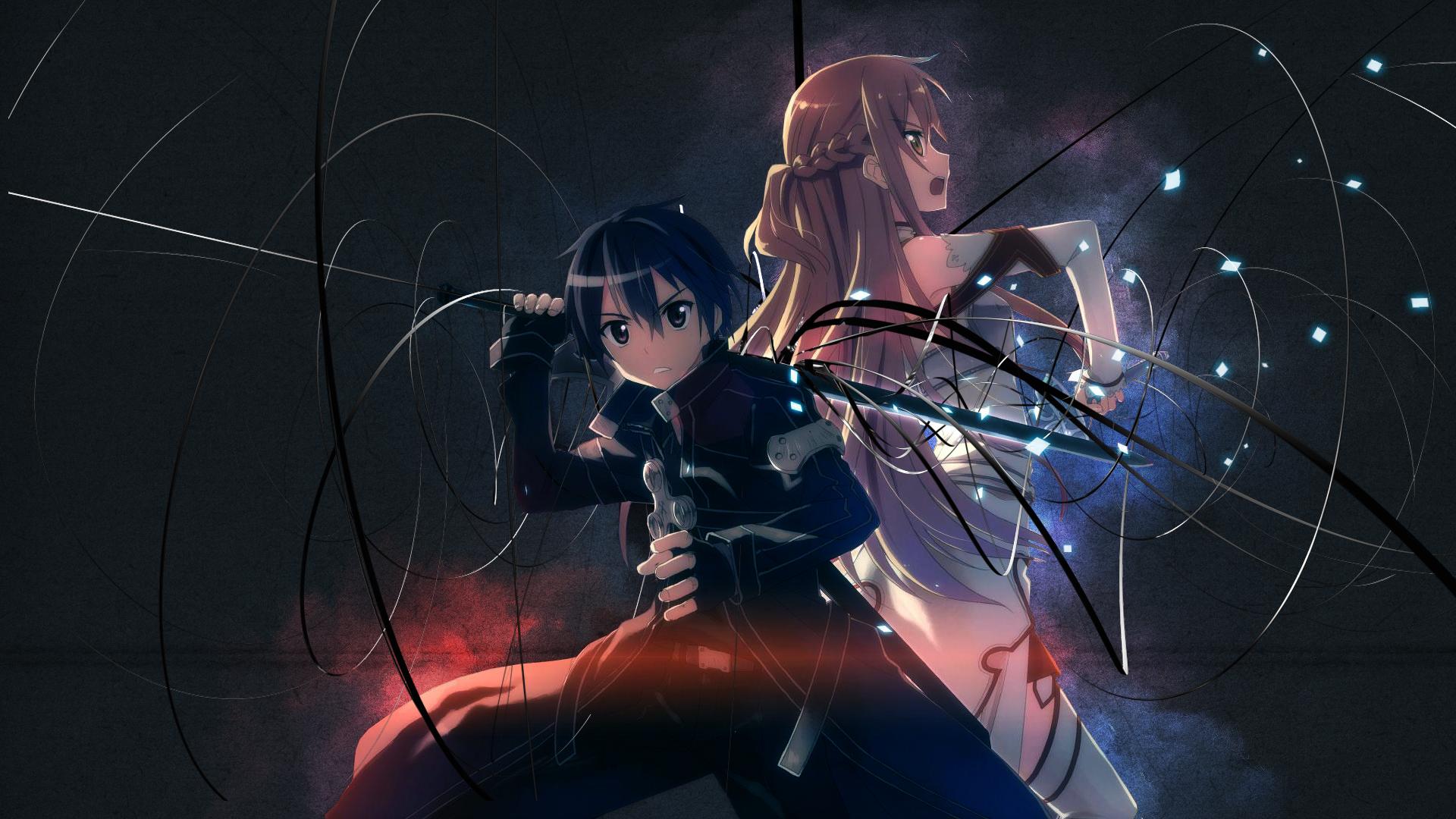 SimplyWallpapers.com: Kirigaya Kazuto Kirito Sword Art Online ...