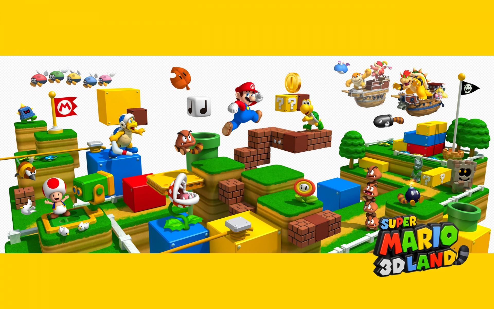 Super Mario 3D Land Fond D'écran HD